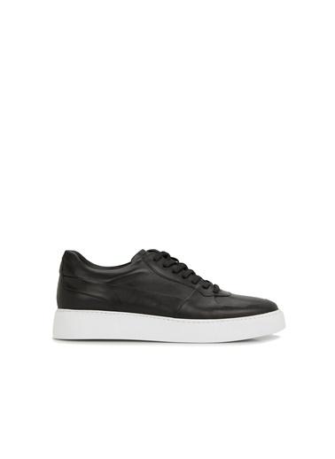 Divarese Divarese 5025335 Bağcıklı Deri Erkek Ayakkabı Siyah